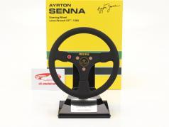 Ayrton Senna Lotus 97T #12 Formel 1 1985 Lenkrad 1:2 Minichamps