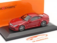 Mercedes-Benz SL65 AMG Black Series (R230) 2009 rood 1:43 Minichamps