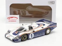 Porsche 956 LH #1 优胜者 24h LeMans 1982 Ickx, Bell 1:18 Solido
