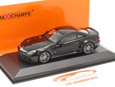 Mercedes-Benz SL65 AMG Black Series (R230) 2009 zwart 1:43 Minichamps