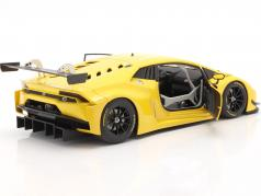 Lamborghini Huracan GT3 Opførselsår 2015 gul 1:18 AUTOart