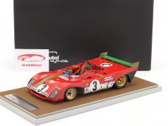 Ferrari 312 PB #3 winnaar 1000km Spa 1972 Redman, Merzario 1:18 Tecnomodel