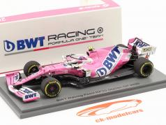 Lance Stroll Racing Point RP20 #18 7 ° Stiriano GP formula 1 2020 1:43 Spark