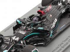 L. Hamilton Mercedes-AMG F1 W11 #44 英国の GP F1 世界チャンピオン 2020 1:43 Spark