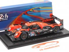 Aurus 01 #26 9th 24h LeMans 2020 Jensen, Rusinov, Vergne 1:43 Spark
