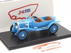 Chenard & Walcker Sport #9 vinder 24h LeMans 1923 Lagache, Leonard 1:43 Spark