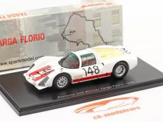 Porsche 906 #148 gagnant Targa Florio 1966 Mairesse, Müller 1:43 Spark