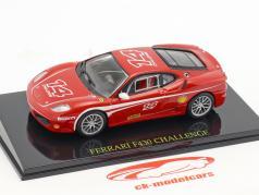 Ferrari F430 Challenge #14 rood met showcase 1:43 Altaya / 2e keuze
