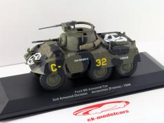 Ford M8 Armored Bil 2. plads Armored Division Avranches (Frankrig) 1:43 Altaya / 2. valg