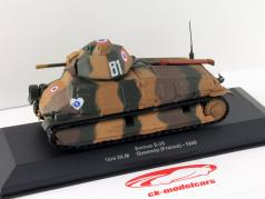 Somua S-35 1st DLM Quesnoy (France) an 1940 1:43 Altaya / 2. choix