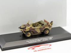 Pkw Typ K2 VW Typ 166 Drijvend auto Hongarije 1945 camouflage 1:43 Altaya / 2e keuze