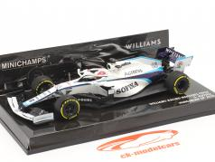 George Russell Williams FW43 #63 Ungarsk GP formel 1 2020 1:43 Minichamps