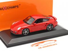 Porsche 911 (997) Turbo 建设年份 2006 红 1:43 Minichamps