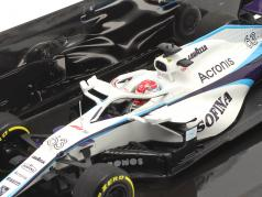 George Russell Williams FW43 #63 Ungarn GP Formel 1 2020 1:43 Minichamps