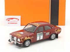 Ford Escort Mk1 RS 1600 #1 Winnaar Lombard RAC Rallye 1974 Mäkinen, Liddon 1:18 Ixo