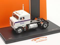 Kenworth Bullnose Vrachtwagen Bouwjaar 1950 Wit / blauw 1:43 Ixo