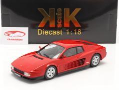 Ferrari Testarossa Bouwjaar 1986 rood 1:18 KK-Scale