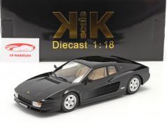 Ferrari Testarossa Ano de construção 1986 Preto 1:18 KK-Scale