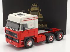 DAF 3600 SpaceCab Caminhão 1986 Branco / vermelho 1:18 Road Kings