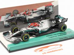 L. Hamilton Mercedes-AMG F1 W10 #44 Monaco GP F1 World Champion 2019 1:43 Minichamps