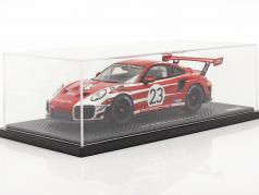 Porsche 911 (991 II) GT2 RS Clubsport Salzburg Design Taxi Leipzig 1:18 Spark