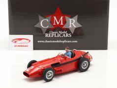 Set: Maserati 250F #2 francés GP Campeón mundial F1 1957 Con Figura del conductor 1:18 CMR
