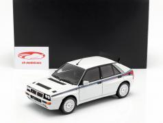 Lancia Delta HF Integrale 5 jaar 1991 wit / martini schilderwerk 1:18 Kyosho / 2e keuze