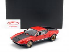 De Tomaso Pantera GT4 jaar 1972 rood / zwart 1:18 Kyosho / 2e keuze