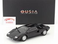 Lamborghini Countach LP400 jaar 1974-1978 zwart 1:18 Kyosho / 2e keuze