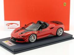Ferrari J50 Roadster jaar 2016 rosso tristrato met showcase 1:18 LookSmart / 2e keuze