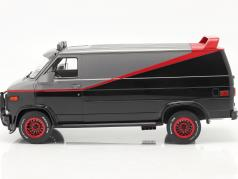 B.A.'s GMC Vandura year 1983 TV series The A-Team (1983-87) 1:12 Greenlight