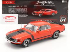 Ford Mustang Boss 302 Fastback Byggeår 1970 rød / sort 1:18 Highway61