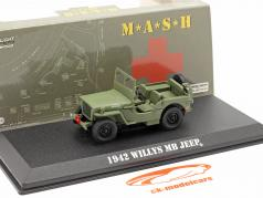 Jeep Willys MB 1942 电视 系列 M*A*S*H* (1972-83) 橄榄 1:43 Greenlight