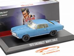 Chevrolet Monte Carlo 1972 电影 Ace Ventura (1994) 蓝色 1:43 Greenlight