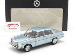 Mercedes-Benz 200 (W114/115) Ano de construção 1968-73 cinza azul metálico 1:18 Norev
