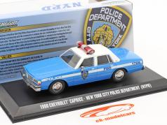 Chevrolet Caprice NYPD 1990 蓝色 / 白色 1:43 Greenlight