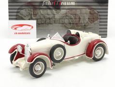 Austro Daimler ADR 6 Sport Torpedo Bouwjaar 1929 Wit / rood 1:18 Fahr(T)raum