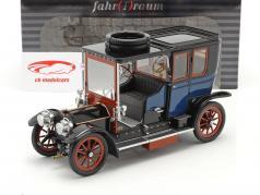 Austro Daimler 22/35 Maja Engine Byggeår 1908 blå / sort 1:18 Fahr(T)raum
