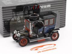 Austro Daimler 22/35 Maja Engine Bouwjaar 1908 blauw / zwart 1:43 Fahr(T)raum