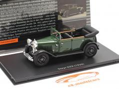 Steyr XXX Cabriolet Année de construction 1929 vert 1:43 Fahr(T)raum