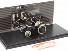 Lohner Porsche Nr. 27 Closed Top Année de construction 1900 noir / blanc 1:43 Fahr(T)raum