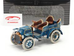 Lohner Porsche Mixte Hybrid Byggeår 1901 blå 1:18 Fahr(T)raum