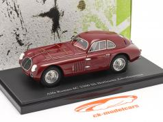 Alfa Romeo 6C 2500 SS Berlinetta Aerodinamica 1939 dark red 1:43 AutoCult