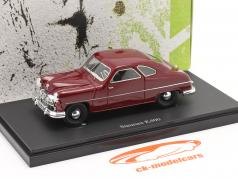 Staunau K400 year 1950 dark red 1:43 AutoCult