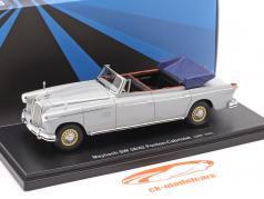 Maybach SW 38/42 Ponton-Cabriolet Ano de construção 1950 garu 1:43 AutoCult