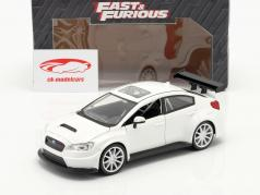 Mr. Little Nobody's Subaru WRX STI Fast and Furious 8 branco 1:24 Jada Toys