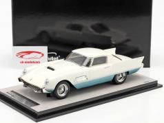 Ferrari 410 Superfast (0483SA) 1956 white / azure metallic 1:18 Tecnomodel