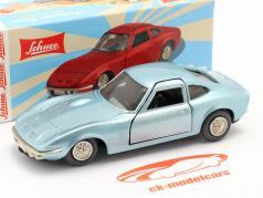 Micro Racer Opel GT 光 蓝色 金属的 1:40 Schuco