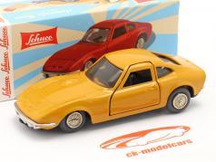 Micro Racer Opel GT ocre amarillo 1:40 Schuco