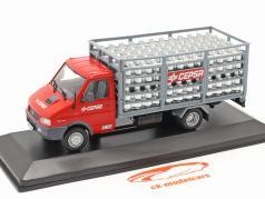 Pegaso Daily Camion Cepsa Anno di costruzione 1994 rosso / Grigio 1:43 Altaya
